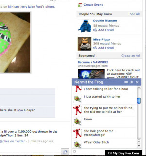 Kermit the Frog Funny Sayings Facebook