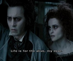 Johnny Depp Movie Quotes Movie quote,quote,sweneey todd