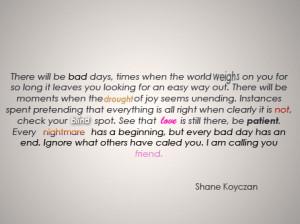 , Quotes Words Typography, Poetry Shane Koyczan, Shane Koyczan Quotes ...