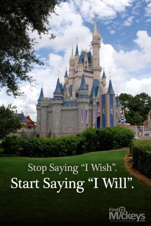 Cinderella Castle Inspirational Quote