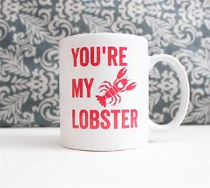 ... -Lobster-Quote-Ceramic-Coffee-Mug-gift-Cup-Friends-TV-show-love-Heart