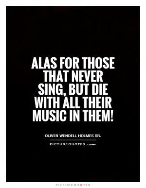 Oliver Wendell Holmes Sr Quotes
