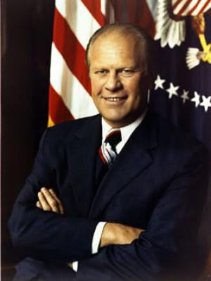 Gerald Ford, Thirty-Eighth President of the United States - Courtesy ...