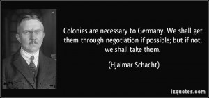 More Hjalmar Schacht Quotes