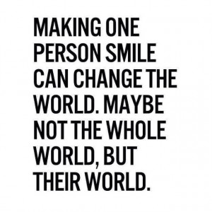 Make someone smile today :) #smile #QOTD #quote #happy Positive ...