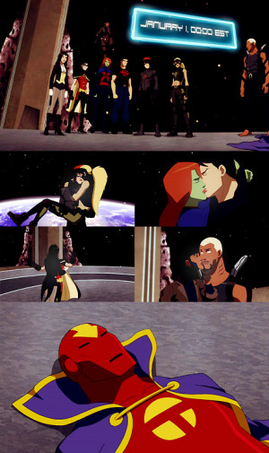 "top 5 young justice quotes (asked by anon)#5:RED TORNADO: ""Human ..."
