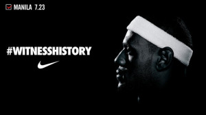 WitnessHistory: Nike Philippines brings Lebron James to Manila