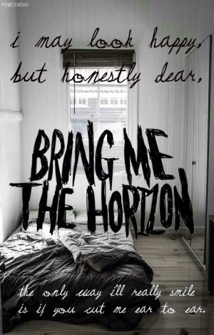 Bring me the horizon - Chelsea smile