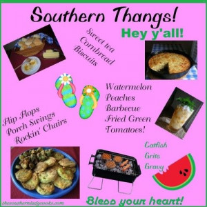Southern Thangs---Amen & than God for them.