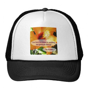 Famous Buddha Quotes Trucker Hats