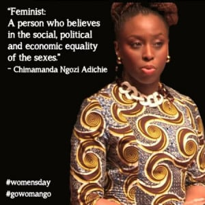 Chimamanda Ngozi Adichie Says We Should All Be Feminists