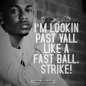 Kendrick Lamar Im Lookin Past