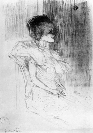 ... drawing by giacometti henri toulouse lautrec marcelle lender sitting