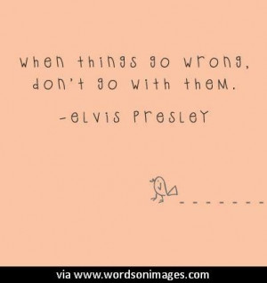 Quotes by elvis presley