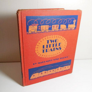 Two Little Trains First Edition 1949 Vintage Book by CraveCute, $5.00