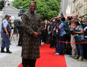 IFP leader Mangosuthu Buthelezi might not have won the elections, but ...