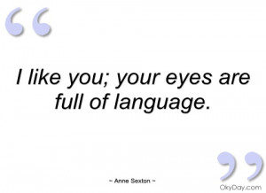 like you anne sexton