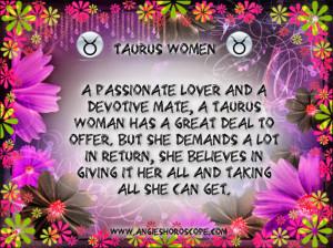 Taurus - Women