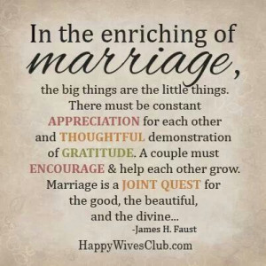 love my husband for all of the little things, all of the appreciation ...