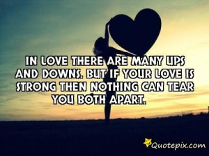 UPS and Downs Relationship Quotes