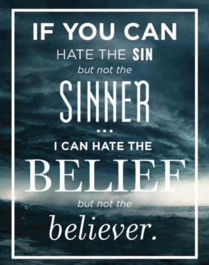 ... BUT I still believe that an atheist has the right NOT to believe