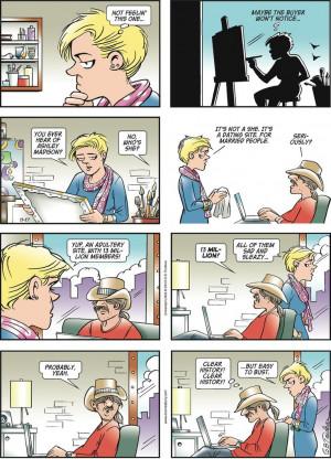 Doonesbury Comic Strips by Garry Trudeau - November 17, 2013