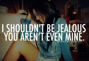 being jealous quotes tumblr