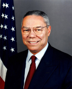 Colin Powell Takes Aim at Cheney 'Cheap Shots'