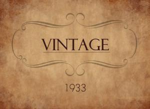 Vintage Year Date Birthday 80th Birthday Invitation