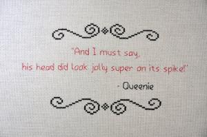 Blackadder Quotes Queenie/blackadder quote -