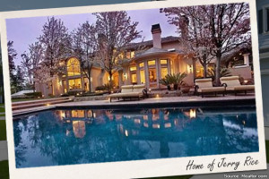 Celebrity house for sale: Jerry Rice