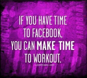 You can make time to workout