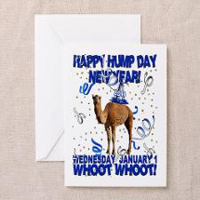 Happy Hump Day New Year 2014 Party Camel Greeting