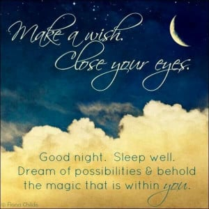 Good night, sleep well: Good Night, Dreams Big, Quotes, Sleep Well ...
