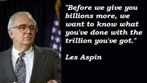 Les aspin famous quotes 1