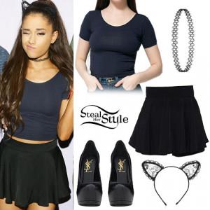 Ariana Grande Honeymoon Tour Outfits