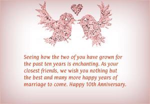 10 year wedding anniversary quotes
