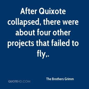After Quixote collapsed, there were about four other projects that ...