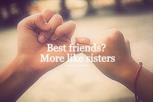 Blackbear, Best friends? more like sisters