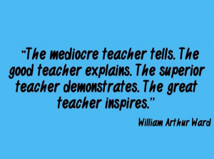 great famous quotes about teachers quotesgram
