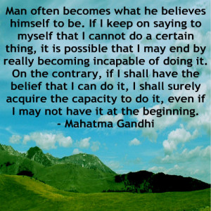 Our problems with Self Belief and Self Doubt are very real, we all at ...