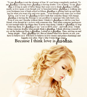 things to live by #taylor swift #fearless quote #my edit
