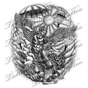 ... patron saint of law enforcement and the military. Tattoo one day