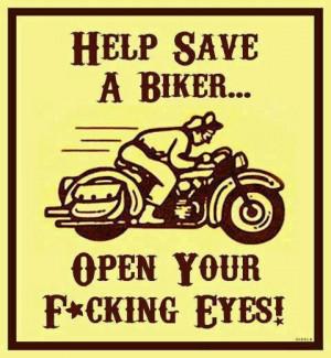 Help save a biker...