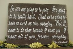 Pallet Sign Wedding Anniversary Primitive Wood Distressed Wood Home ...