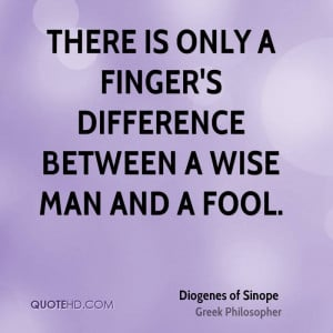 Diogenes of Sinope Quotes