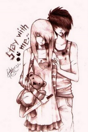 Emo Emo Couple
