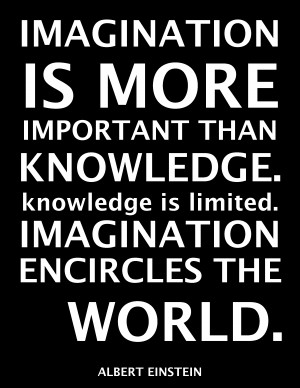 Famous Quotes and Sayings about Imagination - Imagination is more ...