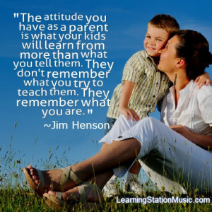 The importance of being a good role model for your children: You are ...