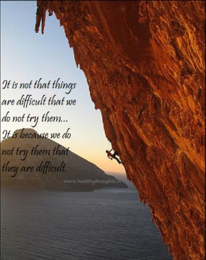 Nothing is Difficult